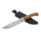 "Нож ""Дискавери-1"" г. Кизляр, рукоять-дерево, сталь 65Х13"