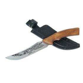 Нож 'Клык-1' г. Кизляр, рукоять-дерево, сталь 65Х13 Ош