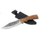 """Нож """"Сафари"""" г. Кизляр, рукоять-дерево, сталь 65Х13, микс"""