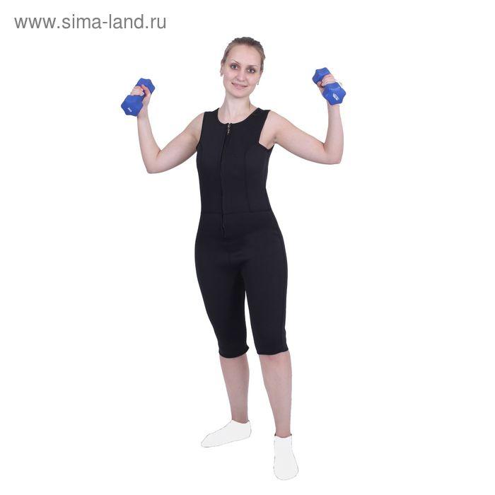 Комбинезон спортивный для похудения, р. 3XL(50)  в пакете