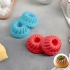 Набор форм для выпечки «Пальчики оближешь», 7×3 см, 6 шт, цвет МИКС - фото 308044693