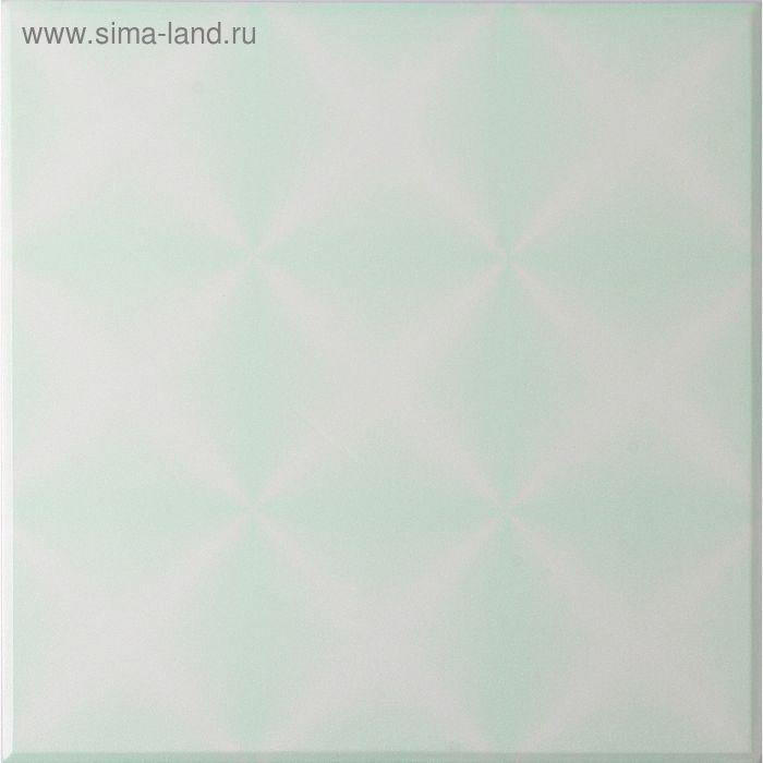 """Плита потолочная """"Калейдоскоп"""", цвет зелёный"""