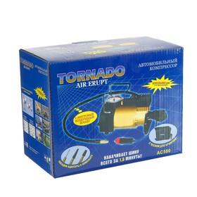 Компрессор автомобильный Tornado АC-580, 14 A, 35 л/мин, 55 PSI, 12 В Ош