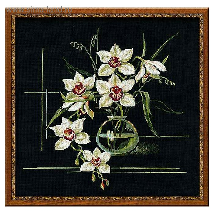 """Набор для вышивания крестиком """"Орхидеи"""""""