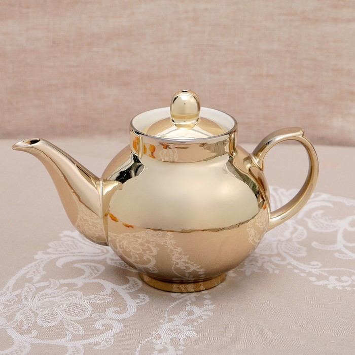 Заварочный чайник, золото, 700 мл