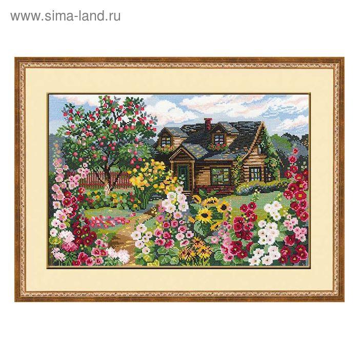 """Набор для вышивания крестиком """"Цветущий сад"""""""