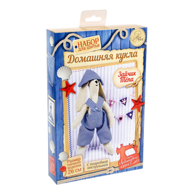 "Soft toy Bunny ""Tepa"", a sewing kit, 17 × 26 cm"