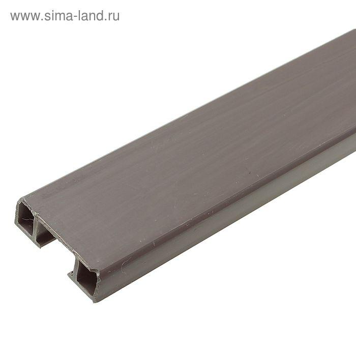 Рейка крепежная для панелей ПВХ 3м
