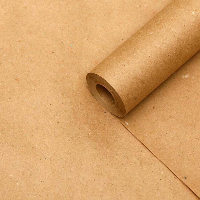 Бумага крафт 0,42 х 10 м