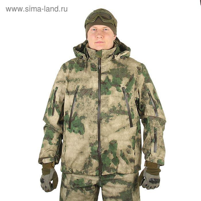Куртка для спецназа демисезонная МПА-26 ткань софтшелл, КМФ мох (54/3)