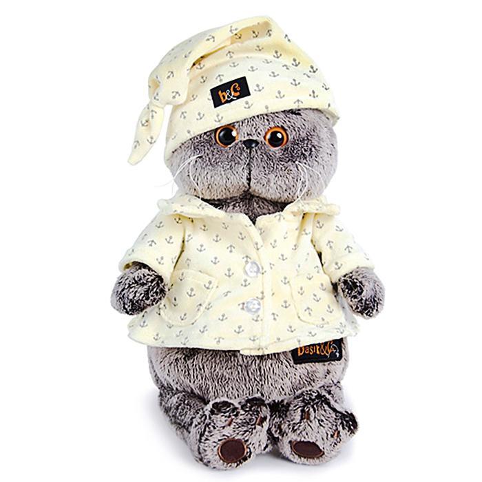 Мягкая игрушка «Басик в пижаме», 22 см - фото 4469054