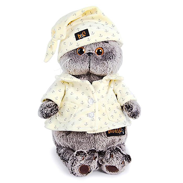 Мягкая игрушка «Басик», в пижаме - фото 4467305