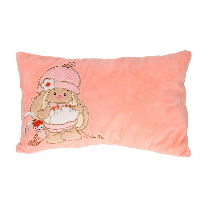 """Подушка """"Зайка Ми"""", цвет розовый"""
