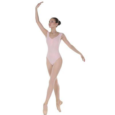 Трико для хореографии, размер 46, цвет телесный