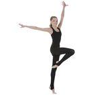 Трико для хореографии, размер 38, цвет чёрный