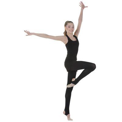Трико для хореографии, размер 30, цвет чёрный