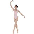 Трико для хореографии, размер 34, цвет телесный