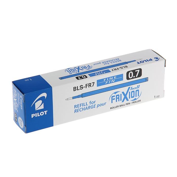 Стержень гелевый Pilot Frixion, синий 0.7мм для ручек BL-FR-7, BLS-FR7 - фото 370902300