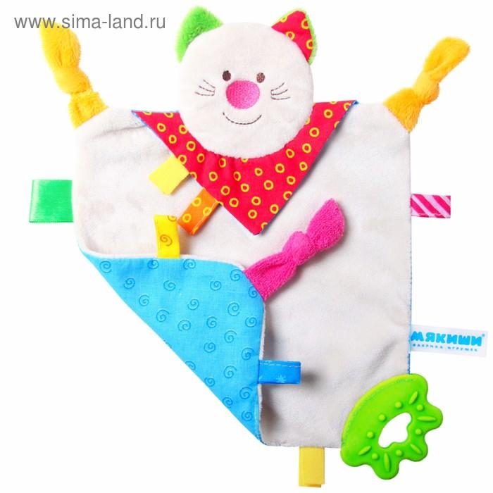"""Развивающая игрушка-платочек """"ШуМякиши. Котёнок"""""""