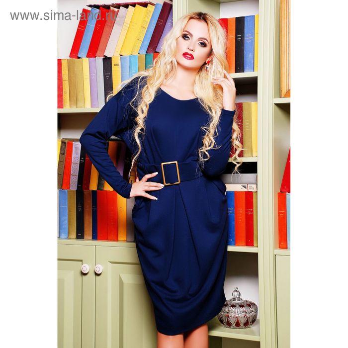 Платье женское 71174, размер 44 (M), цвет синий