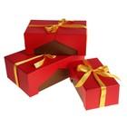 """Набор коробок 3 в 1 """"Оригинальная красная"""""""