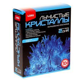 Набор для выращивания кристаллов 'Синий кристалл' Ош
