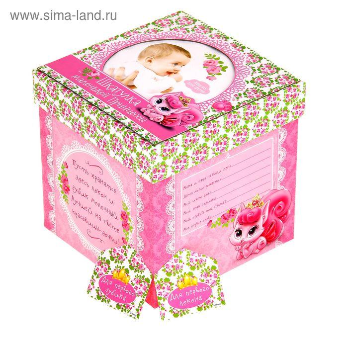 """Памятная коробка для новорожденных """"Шкатулка маленькой принцессы"""", Королевские питомцы, Дисней Беби"""