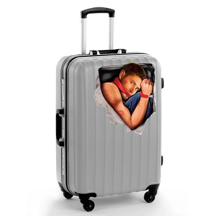"Наклейка на чемодан ""Мужчина"""