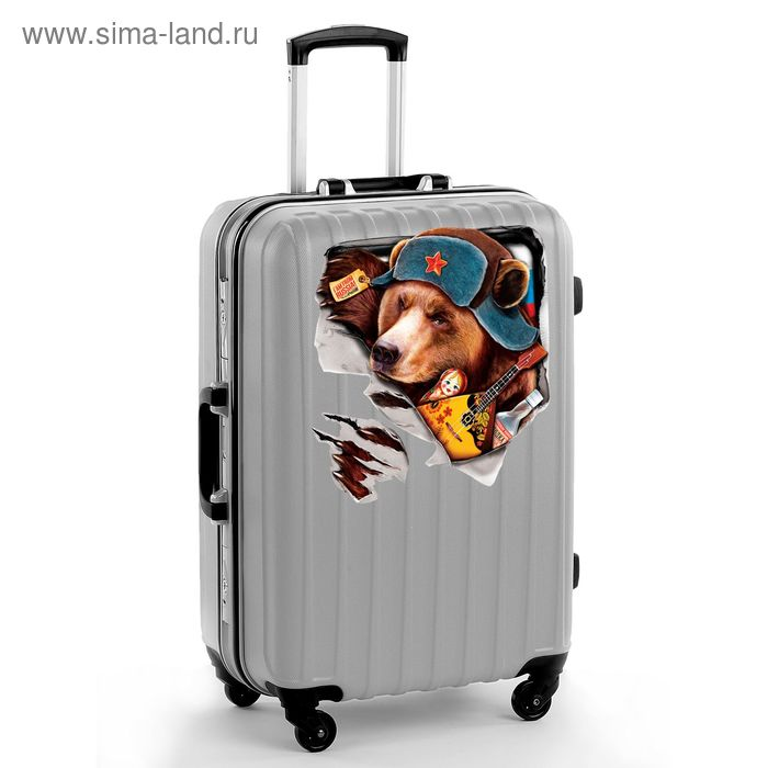 "Наклейка на чемодан ""Медведь"""
