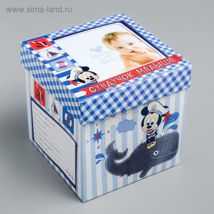 """Памятная коробка для новорожденных """"Сундучок малыша"""", Микки Маус, Дисней Беби"""