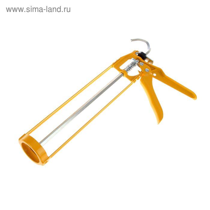 Пистолет для герметика Soudal, 310 мл, скелетный, жёлтый