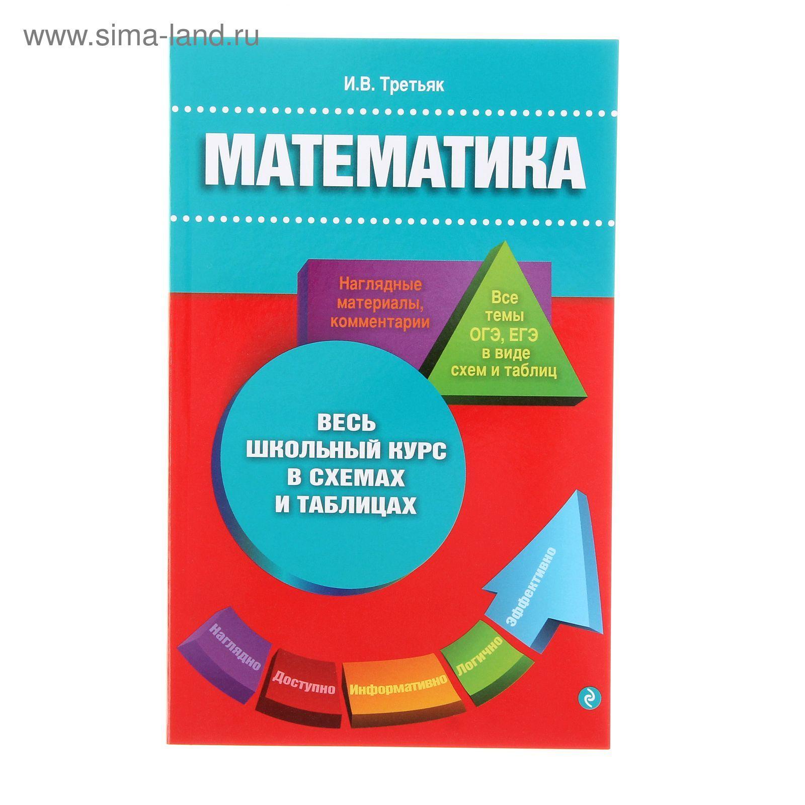 Математика школьный курс в таблицах и схемах фото 754