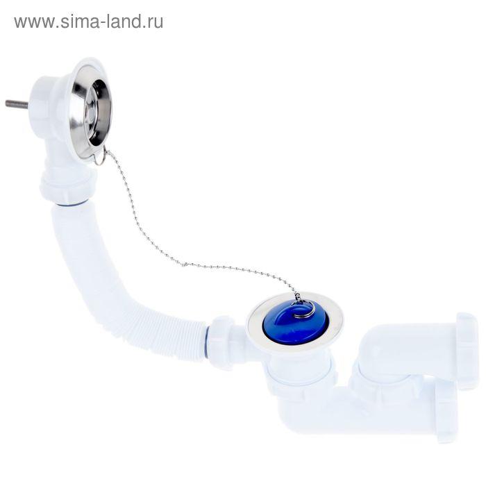 Сифон для ванны Aquant, с выпуском и переливом