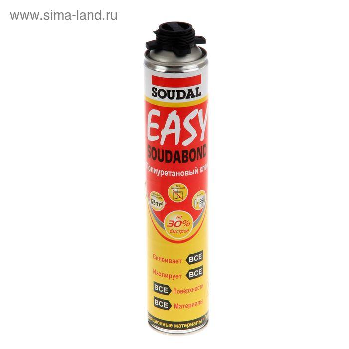 Герметик-клей Soudal, soudabond easy gun, полиуретановый, 750 мл