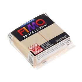 Пластика - полимерная глина FIMO professional, 85 г, шампань