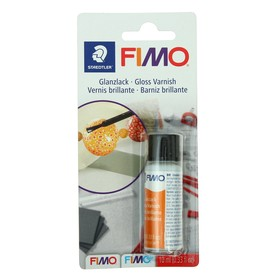 Лак для полимерной глины акриловый глянцевый FIMO, на водной основе, 10 мл