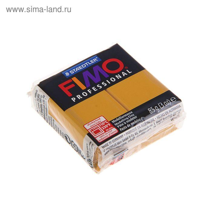 Пластика - полимерная глина 85г FIMO professional, охра