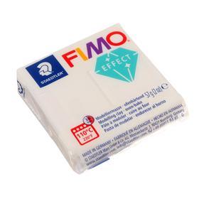 Пластика - полимерная глина FIMO effect, 57 г, прозрачный