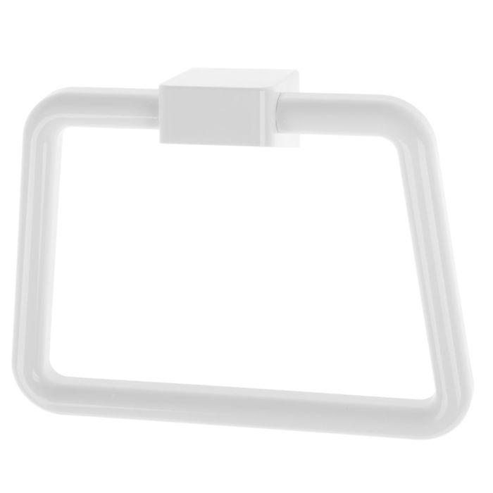 Держатель для полотенца Ledeme L3804, одинарный, трапеция, пластик