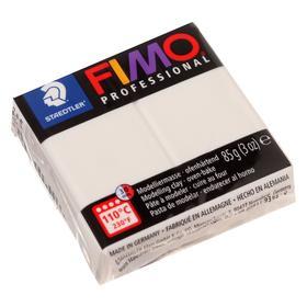 Пластика - полимерная глина FIMO professional, 85 г, белый