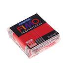 Пластика - полимерная глина 85г FIMO professional, чисто-красный