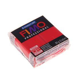 Пластика - полимерная глина FIMO professional, 85 г, чисто-красный