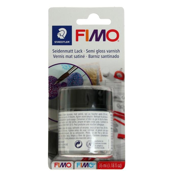 Лак для полимерной глины акриловый, матовый, FIMO, на водной основе, 35 мл