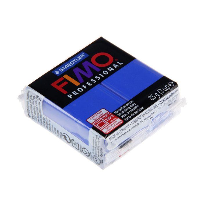 Пластика - полимерная глина FIMO professional, 85 г, ультрамарин