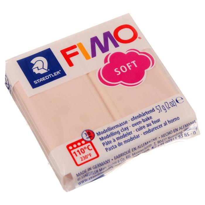 Пластика - полимерная глина 57г FIMO soft, телесный