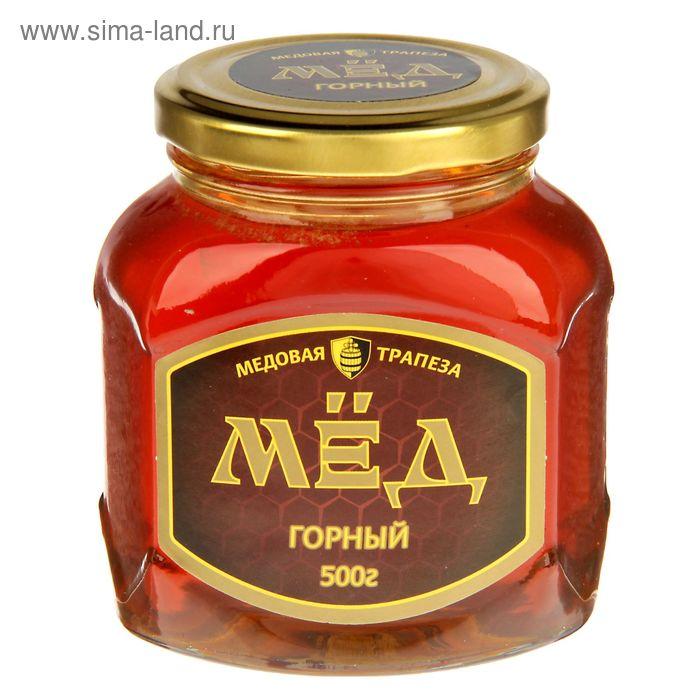 """Мёд Медовая компания """"Медовые традиции"""" горный, стеклянная банка, 500 гр."""