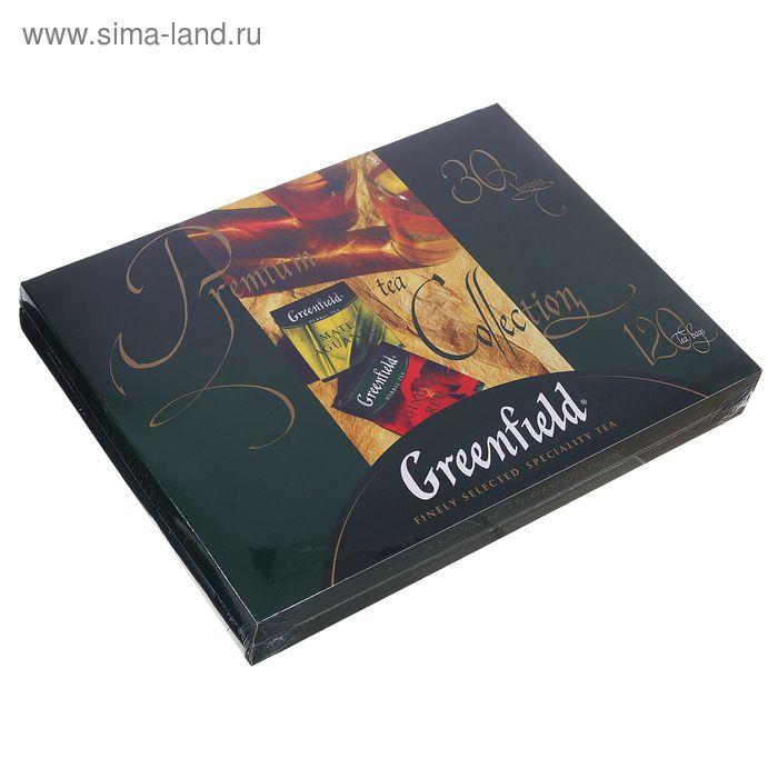 Набор изысканного чая Greenfield, 30 видов, 120 пакетиков*2 г