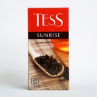 Чай черный Tess Sunrise, 25 пакетиков*1,8 г