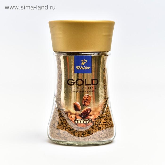 Кофе Tchibo Gold Selection, натуральный растворимый, сублимированный, 47,5 г