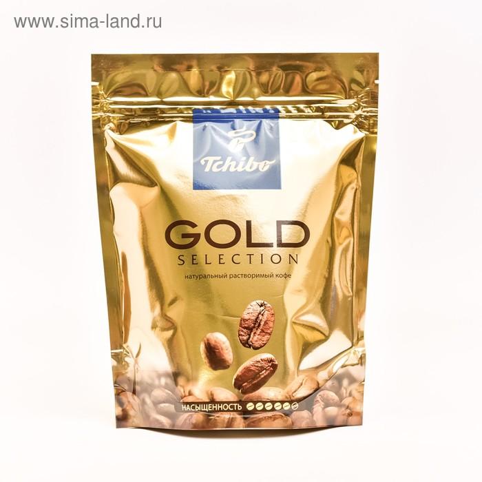 Кофе Tchibo Gold Selection, натуральный растворимый, сублимированный, 75 г